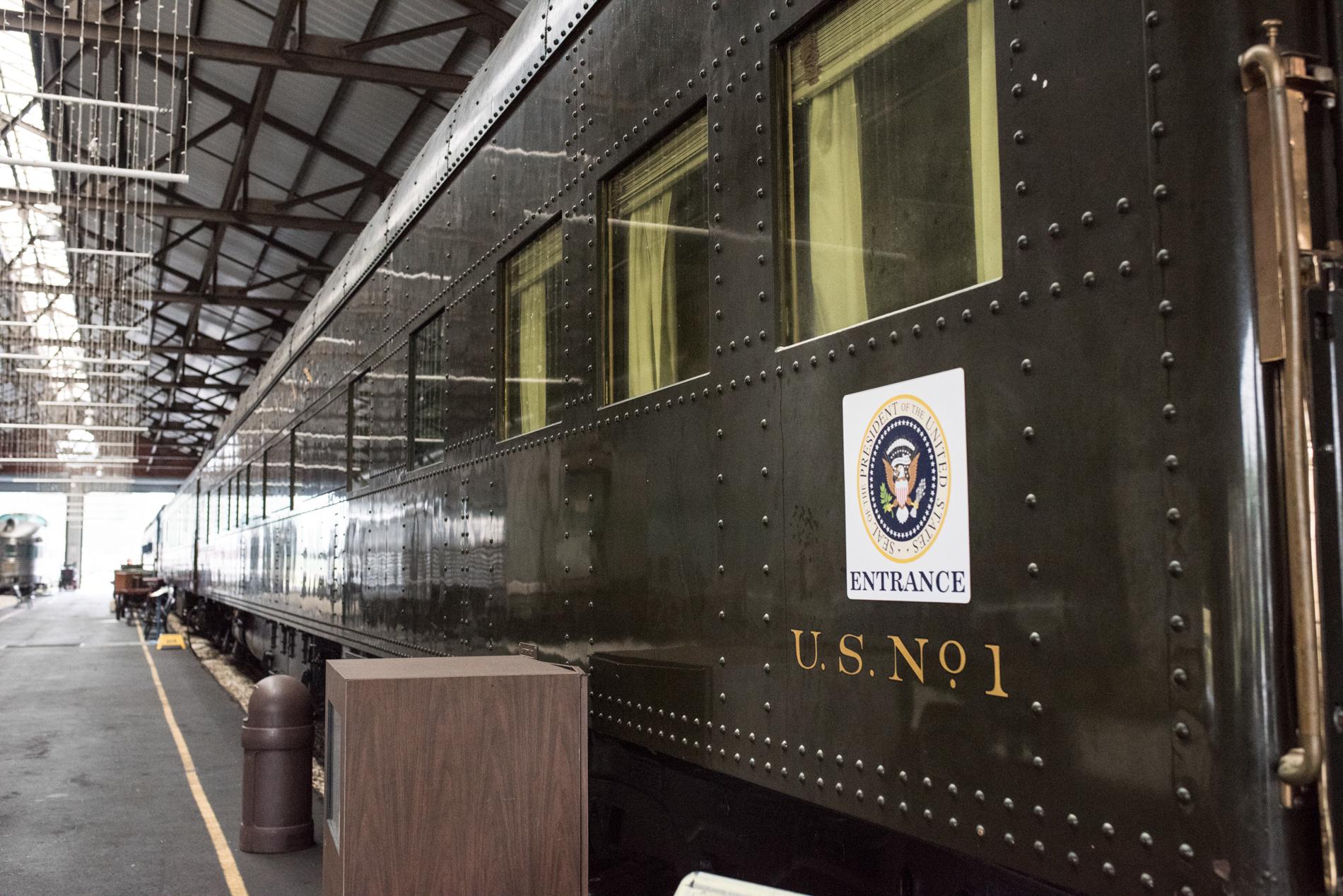 Presidential Railcar