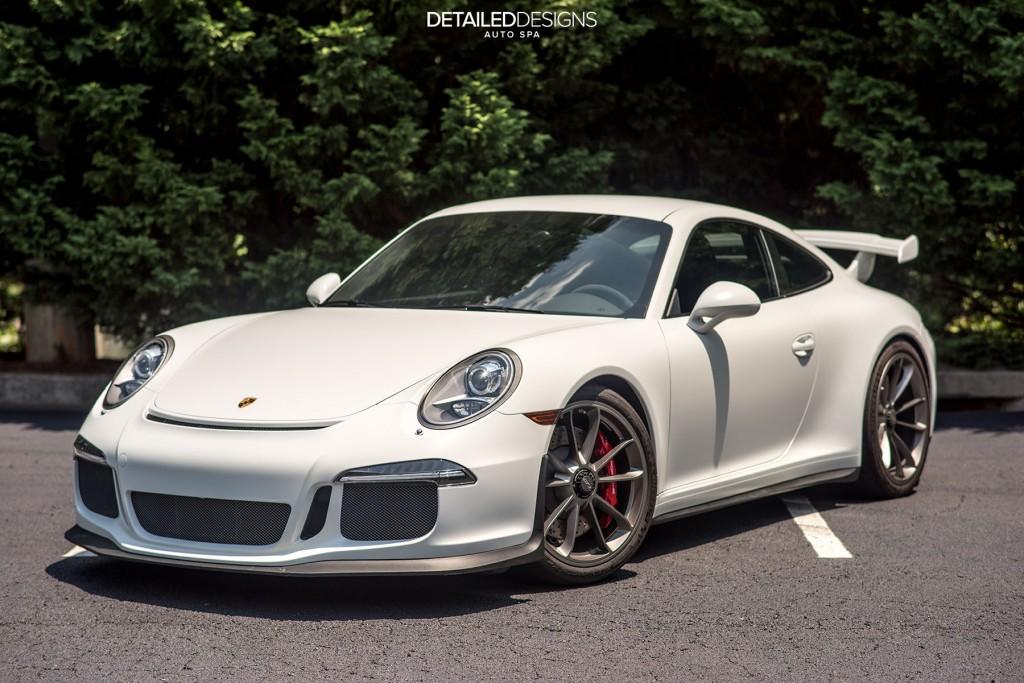 Porsche Xpel Clear Bra Stealth